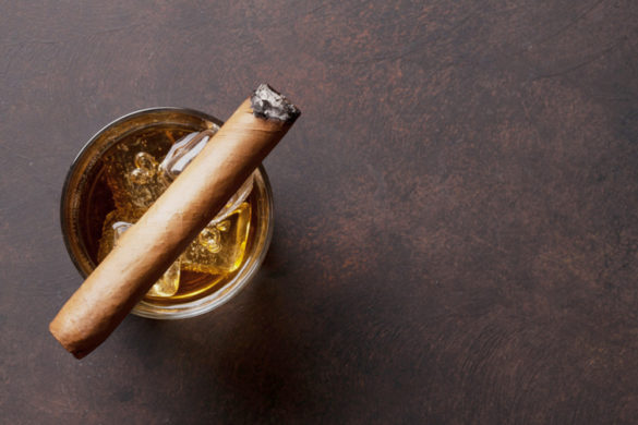 Cigar and Bourbon